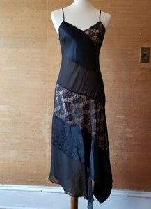 Express Silk Slip Dress, Size 3/4